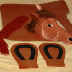 Little Brown Horse Costume